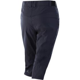 Löffler CSL Pantalon de cyclisme 3/4 Femme, graphite